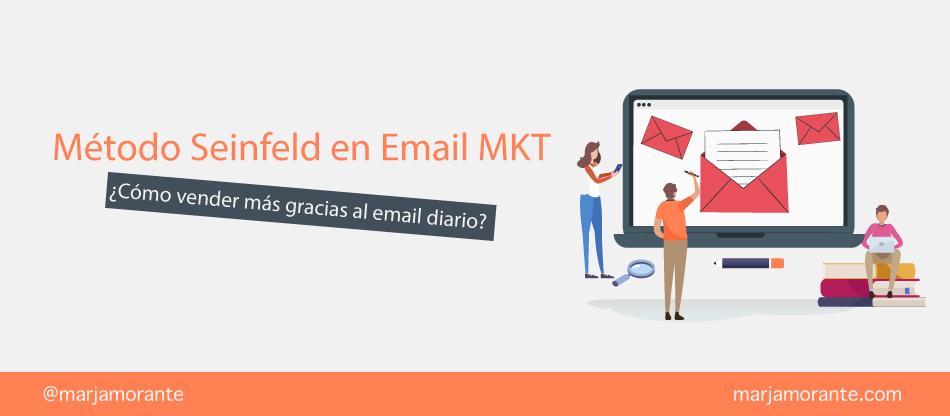 metodo seinfeld email marketing